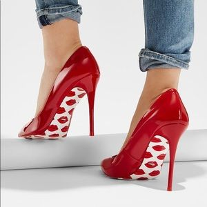 Red Women's Aldo High Heels Limited Edition Stessy